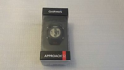 "Garmin Approach S2 Golf GPS Watch - 1"" Display - Black/Red"