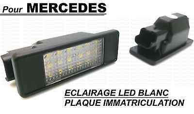 Mercedes Vito & Viano W639 Led License Plate Light White Xenon Rear Trunk Boot