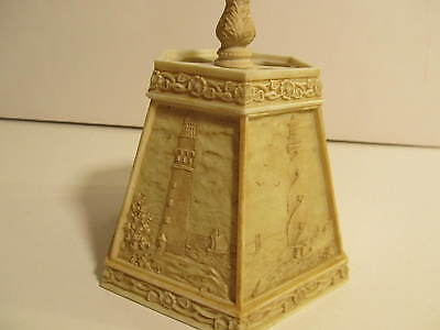 Vintage Lighthouse Lampshade for small table/desk light.