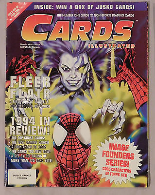 March 1995 Cards Illustrated #16 Guide To Non Sport Trading Cards Spider-Man