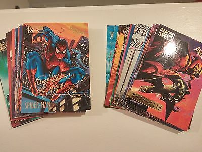 1995 Fleer Ultra Spider-man Gold Signature Cards (You Pick 1)