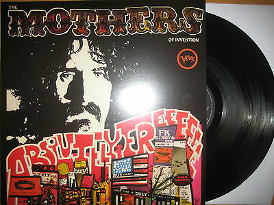 """12"""" Vinyl LP Absolutely Free - Frank ZAPPA & The MOTHERS OF INVENTION"""