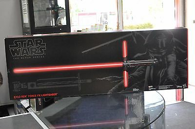 Star Wars The Black Series Kylo Ren Force FX Deluxe Lightsaber hasbro