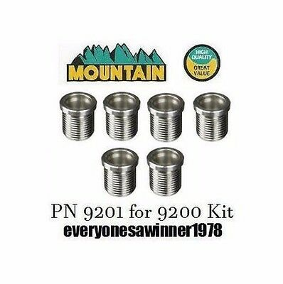 Mountain MTN9201 6-Pack Spark Plug Inserts for 9200 Kit