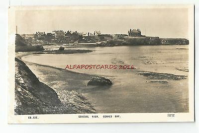 Wales Anglesey Cemaes Bay Real Photo Vintage Postcard
