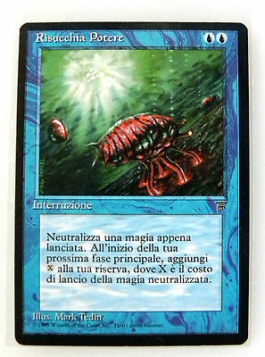 Magic RISUCCHIA POTERE - MANA DRAIN Leggende (Legends) mtg NM ITA Originale