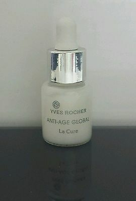 Anti âge Global La Cure 1 flacon pipette 7ml Soin Nuit Yves Rocher repulpe
