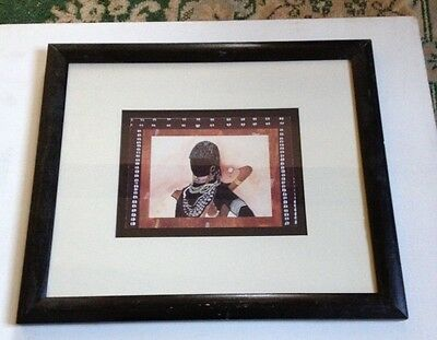 Framed & Matted  Print - African Woman / Africa  Ethnic Art  #2