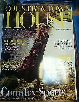 Country & Town House magazine, September 2016: Country sports issue