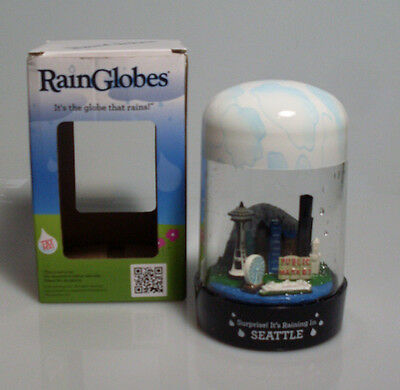 Seattle RainGlobe - The Globe That Rains! Brand New In Box Ideal Gift Sale £7.00