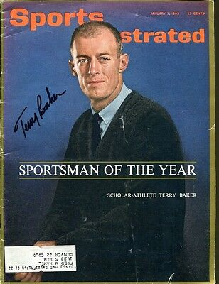 Terry Baker Signed 1963 Sports Illustrated Autograph Oregon State Heisman 29544