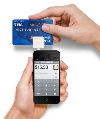 New Square Reader Credit Debit Card White For Square Register For Ios Android