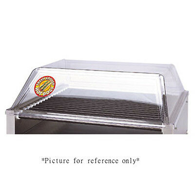 APW Wyott SG-45DD Hot Dog Grill Sneeze Guard with Dual Removable Doors