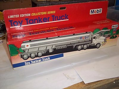 Mobil Toy Tanker Truck Limited Edition 1 St In Series  New In Box