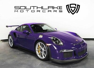 2016 Porsche 911  16 Porsche GT3RS-Ultraviolet Exterior-Only 99 Mile-Never Been Tracked-Clear Wrap