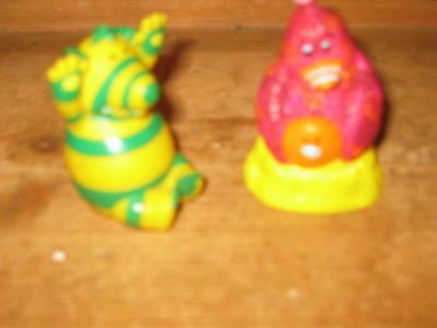 Fimbles Tv Series 2 X Play Figures Fimbo And  Mother Chicken Bessie Chick Ribble