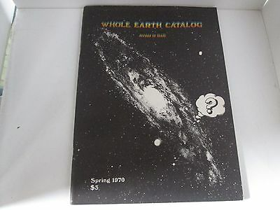 Whole Earth Catalog Access To Tools Spring 1970