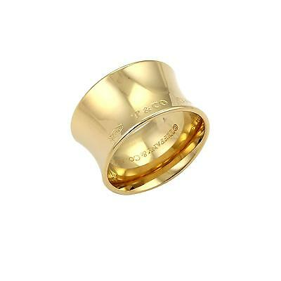 Tiffany & Co. 1837 wide ring in 18k Yellow gold - Size 6