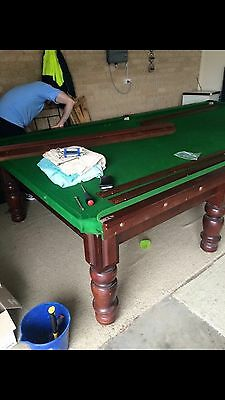 12x6 Full Size Snooker Table