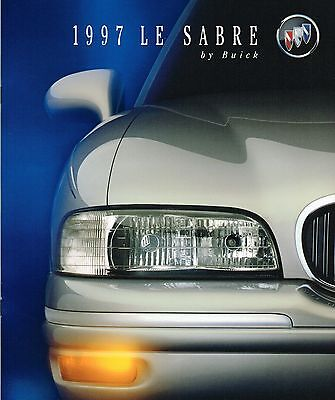 1997 BUICK Le SABRE Brochure / Catalog with Color Chart: Custom,Limited,LeSabre