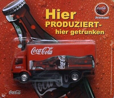 Coca Cola (Germany - 2)  / truck, Mercedes Atego, Scale 1:87 (HO)