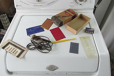 Vintage No. 210 Professional Woodburning Set W Extras By Harry A. Ungar Inc.