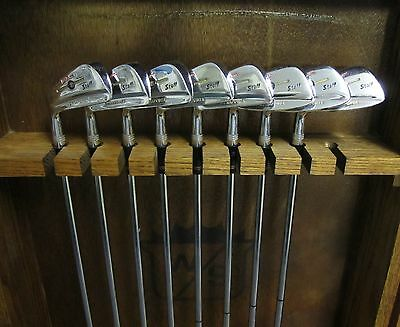 Rare LH Wilson Staff Dynapower 71 Buttonback 2,4-PW Reg Steel All Orig New Cord