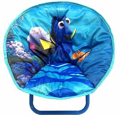 Disney Finding Nemo Dory Blue Toddler Foldable Saucer Chair Seat NEW NIB