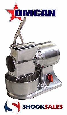 Omcan 11402 Commercial Restaurant Italian Stainless Steel Cheese Grater 1 HP