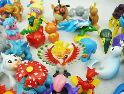New Wholesale 24PC Cute 2-4cm Pokemon Monster Mini Random Figure Toy Party Gift