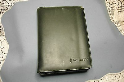 1998 Lincoln Continental Owner's Guide with Case