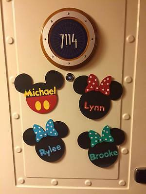 Disney Cruise Line Magnet Door Decoration for Stateroom Mickey Mouse DCL
