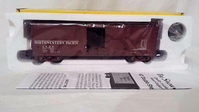 S Helper Service #01895 DS Boxcar Xm Northwestern Pacific NWP #1 sh11 Rd 1938
