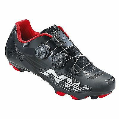 Northwave Blaze Plus Mountain Bike/MTB Cycling/Riding Shoes - Black/White/Red