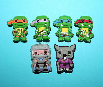 TMNT Inspired Shoe Decorations Cake Cupcake Toppers Piñata Fillers Ninja Turtle