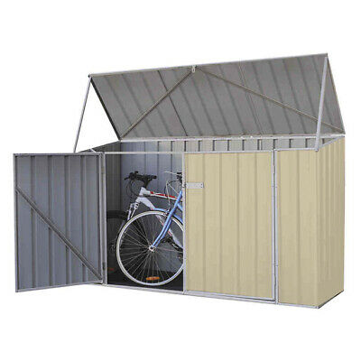 Absco Bike Shed 2.26m x 0.78m Colorbond Garden Shed