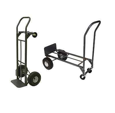 New Milwaukee 800 lb. Capacity 2-in-1 Convertible Hand Truck Dolly Free Shipping