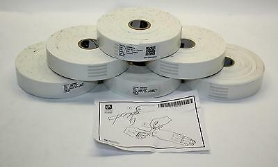 "Zebra 10005008 Z-Band Nect Generation Direct 1"" x 11"" Wristband 6-pack 800129067"