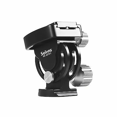 Selens SE-MP01 2D Tilt Pan Ball Head & Quick Release For Camera Tripod Monopod