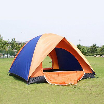 Automatic 3-4 Person Tent Outdoor Camping & Hiking Instant Family Tent UK