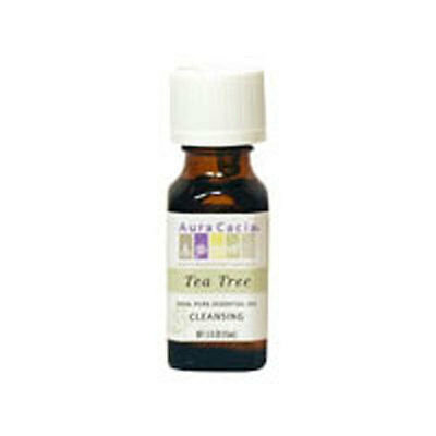 Essential Oil Tea Tree 0.5 oz by Aura Cacia