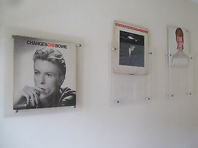"""1x 12"""" Vinyl Record Picture Frame Clear Album Artwork Display Christmas Gift"""