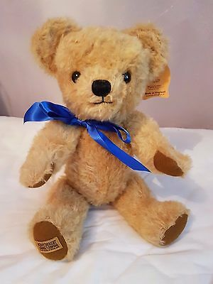 Merrythought London Curly Gold Bear - New - 18 inch