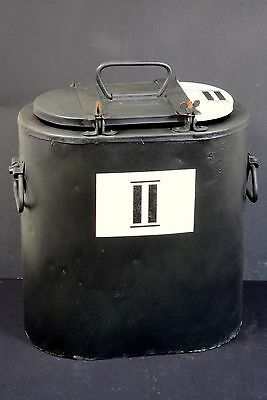 Ww2 Wwii German Emalia Essentrager Hot Food Rations Carrier Container Holder Box