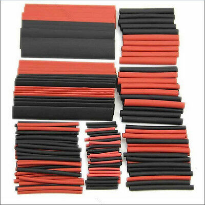 150pcs 2:1 Car Electrical Heat Shrink Tube Tubing Wrap Sleeve Wire Cable Kit Set