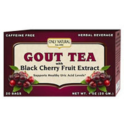 Gout Tea 20 Bags, With Black Cherry Fruit Extract