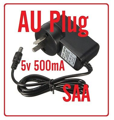 NEW SAA approved AU AC Power Supply Adaptor 240V Converter DC 5V*