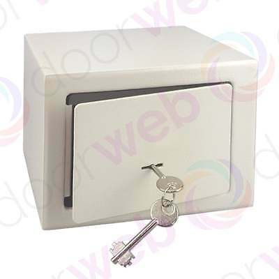 HOME SECURITY SAFE Key Operated Money Cash Jewellery Hotel Office Steel Safes