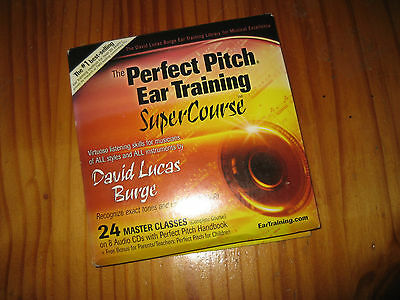 Perfect Pitch EAR TRAINING SUPERCOURSE 24 Master Classes On 8 CDs David L Burge