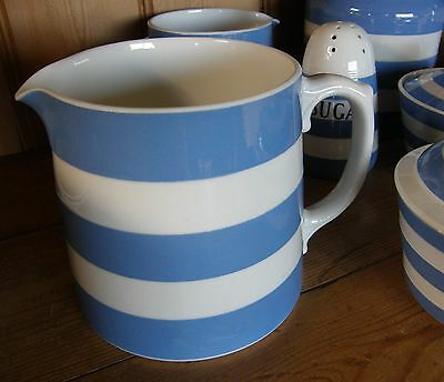 VINTAGE T.G.Green CORNISHWARE ~ Large 2 pint Dreadnought jug - 1930's
